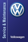 VW Volkswagen Service and Maintenance Book Cover Image