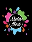 Sketch Book For Girls and boys: Notebook for Drawing, Writing, Painting, Sketching or Doodling: 110 Pages, 8.5x11 Personalized Artist Sketchbook Cover Image