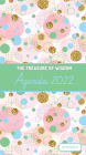 The Treasure of Wisdom - 2022 Pocket Planner - Bubbles and Gold - Green: An 18 Month Planner with Inspirational Bible Verses Cover Image