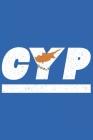 Cyp: Zypern Tagesplaner mit 120 Seiten in weiß. Organizer auch als Terminkalender, Kalender oder Planer mit der Zypern Flag Cover Image