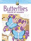 Creative Haven Butterflies Color by Number Coloring Book (Creative Haven Coloring Books) Cover Image