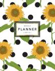 Weekly Planner 2019: Floral Planner - 2019 Organizer with Bonus Dotted Grid Pages, Inspirational Quotes + To-Do Lists - Sunflowers and Polk Cover Image