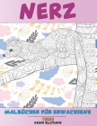 Malbücher für Erwachsene - Keine Blutung - Tiere - Nerz Cover Image