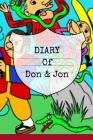 Diary Of Don & Jon: Ninja Book For Kids With Slimy Animal Jokes Cover Image