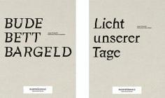 Bude Bett Bargeld/Licht Unserer Tage - Ruhrtriennale 2016: Meisterkurse Daniel Josefsohn und Julian Röder Cover Image