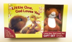 Little One, God Loves You Gift Set [With Plush] Cover Image
