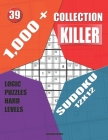 1,000 + Collection sudoku killer 12x12: Logic puzzles hard levels Cover Image