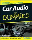 Car Audio for Dummies Cover Image