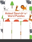 Animal Search-a-Word Puzzles (Dover Little Activity Books) Cover Image