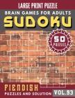 Suduko for adults: Hard Sudoku book for Expert - Large Print Sudoku Maths Book for Adults & Seniors Cover Image