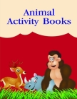 Animal Activity Books: Funny Christmas Book for special occasion age 2-5 Cover Image