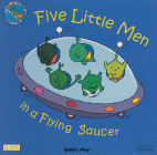 Five Little Men in a Flying Saucer (Classic Books with Holes Board Book) Cover Image