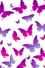 Website Password Log: Internet Password Logbook Large Print with Tabs - the butterfly Cover Cover Image