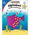 Alphabet, Grades Pk - K: Gold Star Edition (Home Workbooks: Gold Star Edition) Cover Image