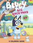 Big Backyard: A Coloring Book (Bluey) Cover Image