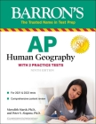 AP Human Geography: with 2 Practice Tests (Barron's Test Prep) Cover Image