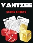 Yahtzee Score Sheets: 100 Large Yahtzee Score Pads, Amazing Score Pads for Scorekeeping, Large Format 8.5