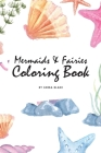 Mermaids and Fairies Coloring Book for Teens and Young Adults (6x9 Coloring Book / Activity Book) Cover Image
