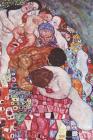 Gustav Klimt Schrift: Leven En Dood - Ideaal Voor School, Studie, Recepten of Wachtwoorden - Stijlvol Notitieboek Voor Aantekeningen - Artis Cover Image