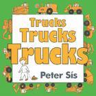 Trucks Trucks Trucks Board Book Cover Image