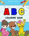 Children's Books: A B C coloring book: Books: Children's Books, Activity Books, Cover Image