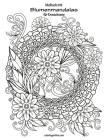 Malbuch mit Blumenmandalas für Erwachsene Cover Image