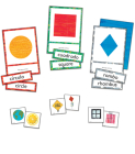 World of Eric Carle(tm) Shapes Learning Cards Cover Image