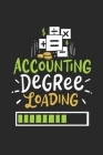 Accounting Degree Loading: Notebook For Accounting And Business Students - Squared Paper (6