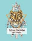Animal Mandalas Para Colorear: Colorear con mandalas de relajación 50 adultos Cover Image