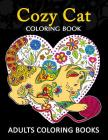 Adults Coloring Book: Cozy Cat coloring book Cover Image