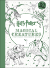 Harry Potter Magical Creatures Postcard Coloring Book Cover Image