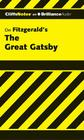 The Great Gatsby (Cliffsnotes) Cover Image