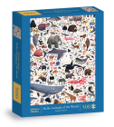 Hello Animals of the World 500-Piece Family Puzzle Cover Image