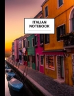 Italian Notebook: Composition Book for Italian Subject, Large Size, Ruled Paper, Gifts for Italian Language Learners and Teachers Cover Image