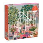 Greenhouse Gardens 500 Piece Puzzle Cover Image