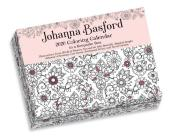 Johanna Basford 2020 Coloring Day-to-Day Calendar Cover Image