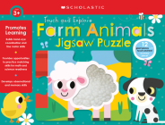 Farm Animals Jigsaw Puzzle: Scholastic Early Learners (Puzzles) Cover Image