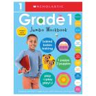 First Grade Jumbo Workbook: Scholastic Early Learners (Jumbo Workbook) Cover Image