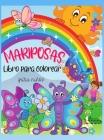 Mariposas Libro para colorear para niños: Libro para colorear de mariposas para niños: Mariposas lindas y coloridas, Las mejores imágenes de mariposas Cover Image