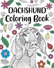 Dachshund Coloring Book Cover Image