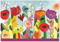 Note Card Brilliant Floral Cover Image