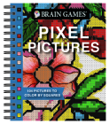 Brain Games - Pixel Pictures: 104 Pictures to Color by Squares Cover Image