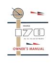 Cessna 170 (52, 53, 54 and 55 Models) Owner's Manual: Pilot Operating Handbook (POH) / Aircraft Flight Manual (AFM) Cover Image