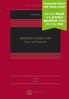 Modern Family Law: Cases and Materials [Connected eBook with Study Center] (Aspen Casebook) Cover Image