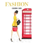 Fashion Coloring Book Cover Image