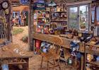 Dads Shed 500 Piece Large-Puzz Cover Image