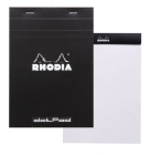 Rhodia Classic Dot Grid 6 X 8 1/4 A5 Black Cover Notepad Cover Image