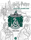 Harry Potter: Slytherin House Pride: The Official Coloring Book: (Gifts Books for Harry Potter Fans, Adult Coloring Books) Cover Image