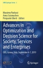Advances in Optimization and Decision Science for Society, Services and Enterprises: Ods, Genoa, Italy, September 4-7, 2019 Cover Image