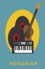 Notizbuch: Klavier Spieler Flügel Piano Pianist Klassische Musik Klassik Musiker Klavierspieler - liniert,120 Seiten, 15,24 x 22, Cover Image